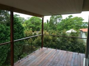 Mirage Frameless Frameless glass balustrade in Sydney Pennant Hills