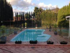 Sydney Semi Frameless Glass Pool Fence in  Ryde NSW