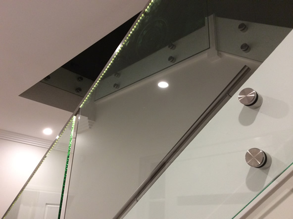 Frameless Glass Balustrade Turramurra, Upper North Shore of Sydney