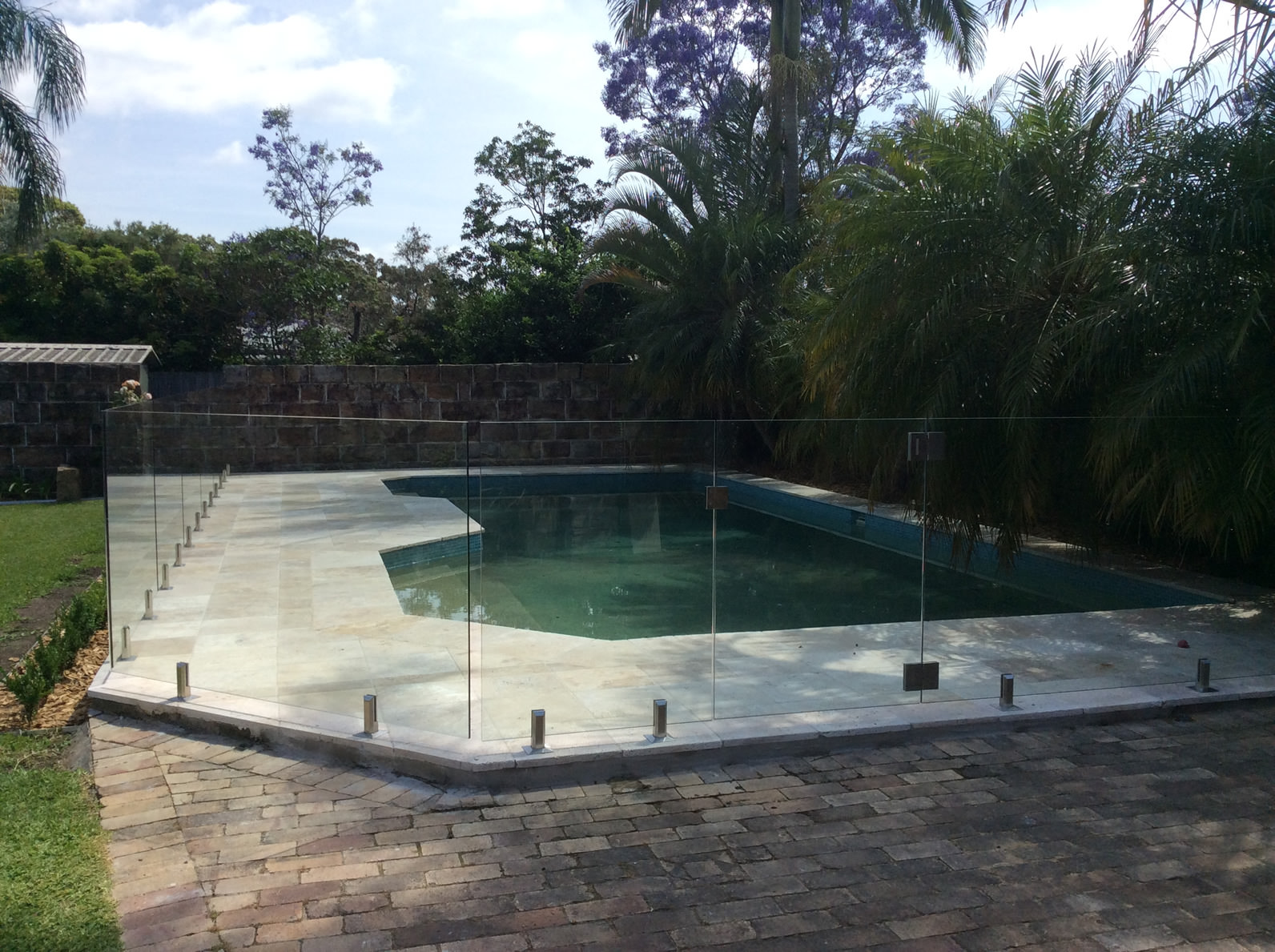 Frameless Glass Pool Fence in Riverview, Lower Northern Suburbs of Sydney