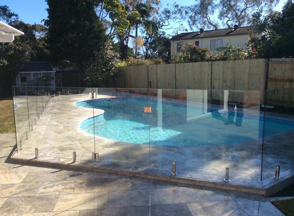 Frameless Glass Pool Fencing West Pymble NSW