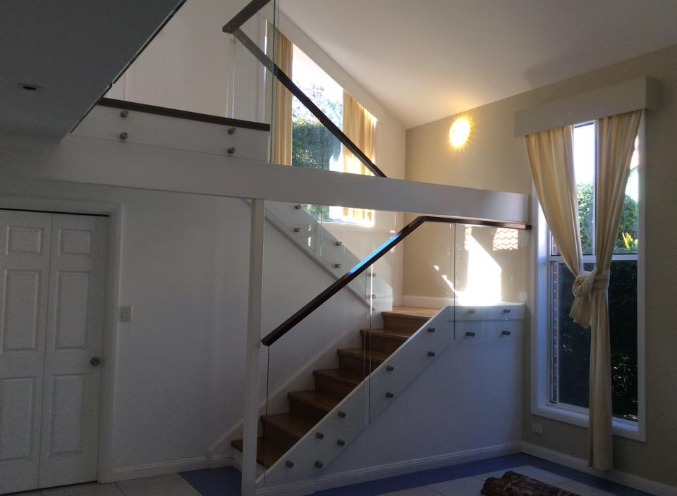 Stair Frameless Glass Balustrade in West Pennant Hills NSW