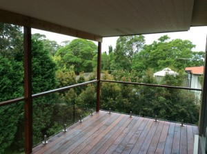Mirage Frameless Frameless glass balustrade in Sydney Pennant Hills