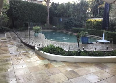 Frameless Glass Pool Fence – Cherrybrook