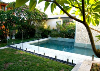 Frameless Glass Pool Fencing with Gate, Kiama, NSW South Coast