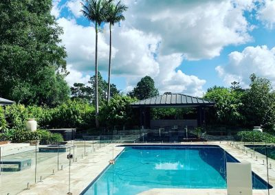 Frameless Glass Pool Fence – Kenthurst