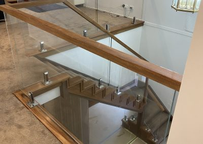 Internal Frameless Glass Balustrade – West Pennant Hills