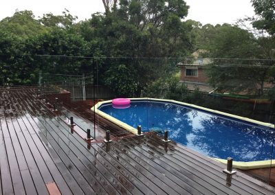Frameless Glass Pool Fence – Castle Hill